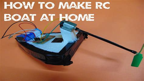 Toy Boat At Home by How To Make A Rc Boat From Old Toy Car At Home Simple
