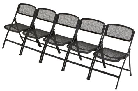 mesh folding chairs stacking miti lite mesh folding