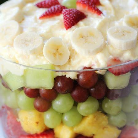 easy fruit trifle recipe