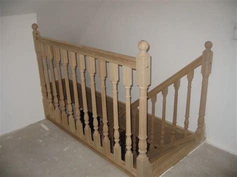 garde corps d escalier en bois pose de garde corps d escalier en bois dans le nord nord escaliers