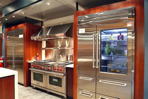 SubZero and Wolf Appliances Living Kitchen Display in NJ