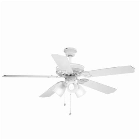 brookhurst 52 in indoor white ceiling fan yg268 wh the