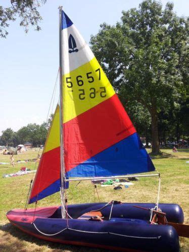 Zeilbootje Roeiboot leuke tinker zeilboot roeiboot motorbootje te koop