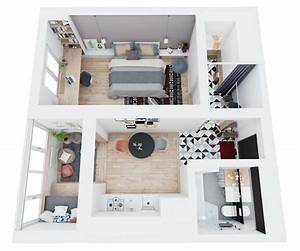 Mini Apartment Einrichten : kleine wohnung einrichten clevere einrichtungstipps ~ Markanthonyermac.com Haus und Dekorationen