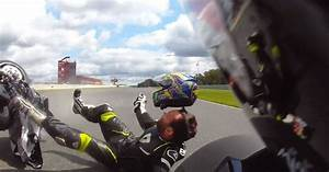 This Bike Racer Miraculously Escapes Injury Despite Losing ...