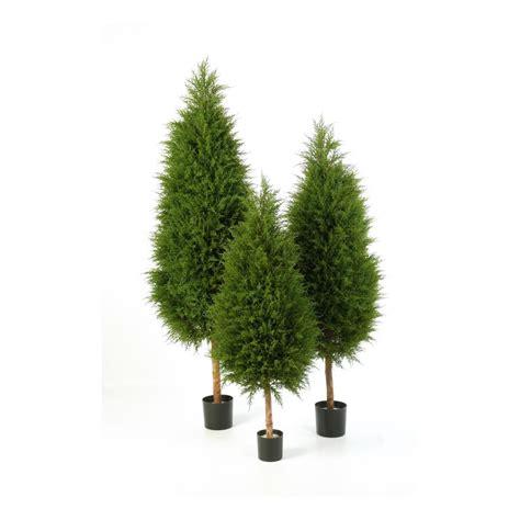 cypres artificiel arbre 120 224 180 cm pour exterieur reflets nature lyon