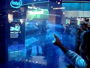 "Intel ""Minority Report"" Touchscreen Display - YouTube"