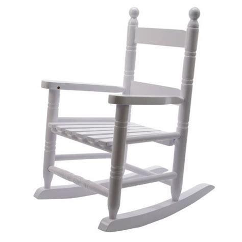 fauteuil 224 bascule pour enfant blanc mobilier pour enfant eminza