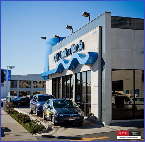 Dch Gardena Honda Honda Dealership Los Angeles Area