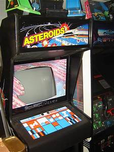 Asteroids Deluxe Arcade Machine - Pics about space