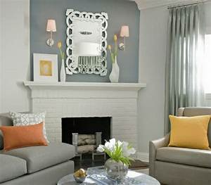Wohnzimmer Farbe Gestaltung : wohnzimmer gardinen ideen f r ihre wohnung ~ Markanthonyermac.com Haus und Dekorationen