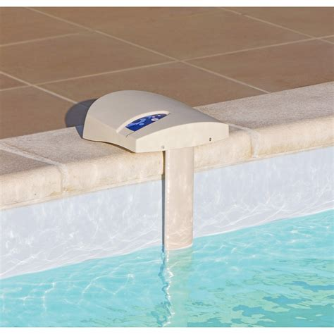kit alarme pour piscine enterr 233 e a immersion visiopool 20m2 leroy merlin