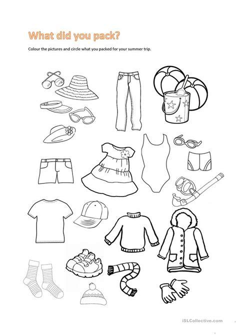 Summer Trip Worksheet  Free Esl Printable Worksheets Made By Teachers