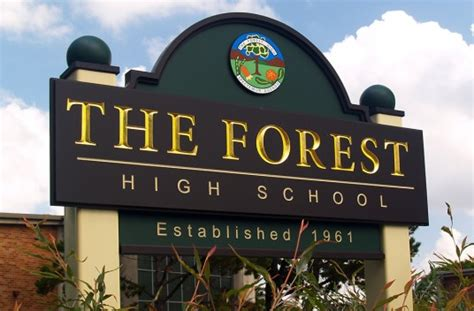 The Forest High School Sign  Danthonia Designs Usa. Early Onset Signs Of Stroke. Lung Mass Signs. Happy Smiley Signs Of Stroke. Electrical Equipment Signs. 6 Week Signs. Aha Asa Signs. Oct 24 Signs Of Stroke. Multicultural Signs