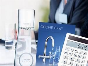 Grohe Blue Test : le mitigeur filtrant pour la cuisine grohe blue ~ Markanthonyermac.com Haus und Dekorationen