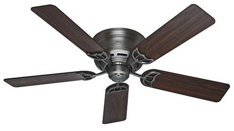 Low Profile Ceiling Fan by 52 Quot Low Profile Iii 2013 Ceiling Fan Hu 53071 In