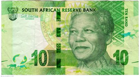 10 rand nd 2012 2012 nd issue south africa banknote 5151