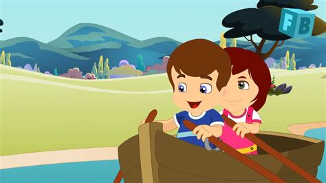 Row Your Boat On Youtube by Row Row Row Your Boat Flickbox Nursery Rhymes And Kids