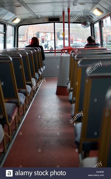 Double Decker Bus, Top Deck Stock Photo, Royalty Free