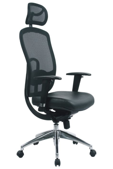 30 unique high back mesh office chair with leather effect