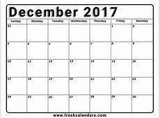 Images Of A Blank December Calendar – 2018 Calendar Template