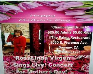 Mother's Day Mini-Concert Champagne Brunch May 14th 2p-7p ...