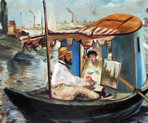 Boat Paintings By Famous Artists by Online Buy Wholesale Claude Monet Portraits From China
