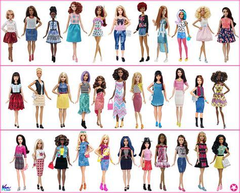 2016 Barbie Fashionistas Collection Dolls
