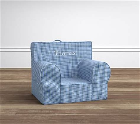 blue gingham my anywhere chair 174 pottery barn