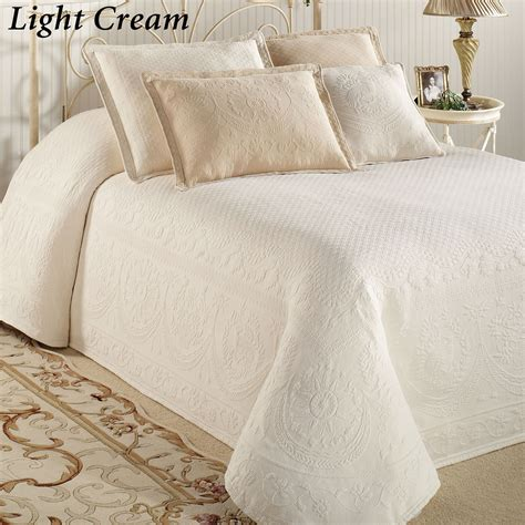 white chenille bedspreads king size bedding sets collections