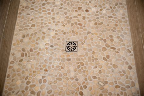 River Rock Pebbles For Your Shower Bathroom Light Fixtures Ikea Peel And Stick Floor Tile Spa Paint Colors For Heat Vent 5 X 9 Plans Coral Color Decor Terracotta Tiles White Cabinet