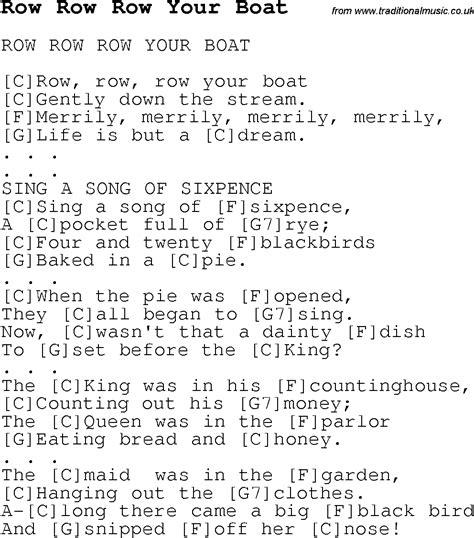Row Your Boat Lyrics Az by Ukulele Songs Tabs Ukulele Chords And Lyrics Autos Post