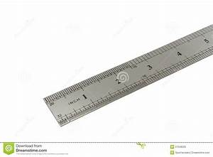 To Scale Inch : metal ruler with inch scale stock image image 37048205 ~ Markanthonyermac.com Haus und Dekorationen