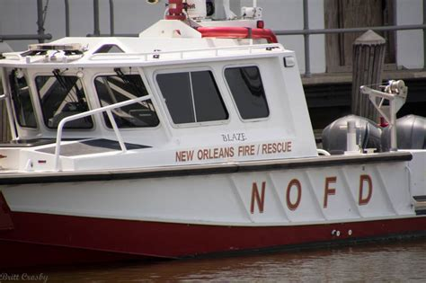 New Orleans Fire Boat by New Orleans La Fireboat