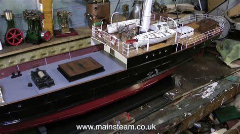 Model Steam Boat Youtube by Refurbishing A Vintage Model Steam Boat Part 31 Youtube
