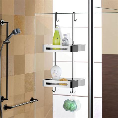 sanliv door shelf hanging shower caddy baskets