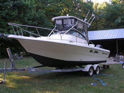 Boats For Sale In Ne Ohio by 2002 Pro Line 25 Walk The Hull Truth Boating And