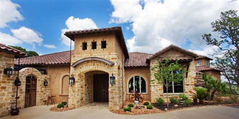 Mediterranean Style Homes : Texas Home Builder Gallery Contemporary Homes,craftman