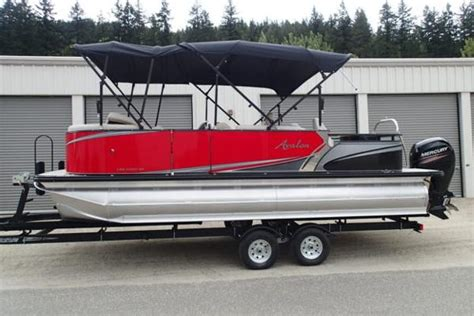 Pontoon Boats For Sale Quebec by Used Pontoon Boats For Sale In Canada Boats