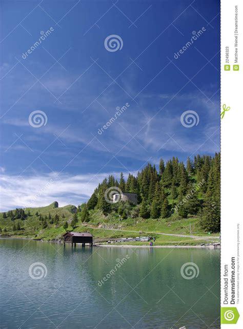 Boathouse On The Lake by Boathouse On Lake Stock Photos Image 22496323