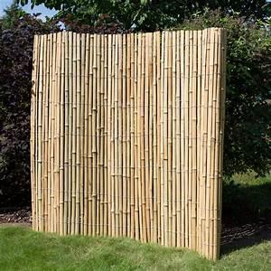 Sichtschutzzaun Bambus Holz : sichtschutz bambus z une bambusz une bambus garten japanwelt ~ Markanthonyermac.com Haus und Dekorationen