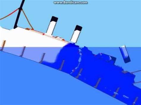 titanic sinking simulation sinking simulator