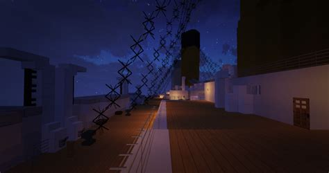 Titanic Boat Structure by Titanic Sinking At 0 20 Am Minecraft Project