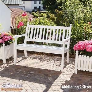 Metall Gartenbank Weiß : gartenbank landhausbank blome hohenzollern 3 sitzer wei metall profiltr ger ebay ~ Markanthonyermac.com Haus und Dekorationen