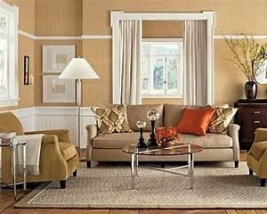 Wohnzimmer Wandfarbe Sand : 115 sch ne ideen f r wohnzimmer in beige ~ Markanthonyermac.com Haus und Dekorationen