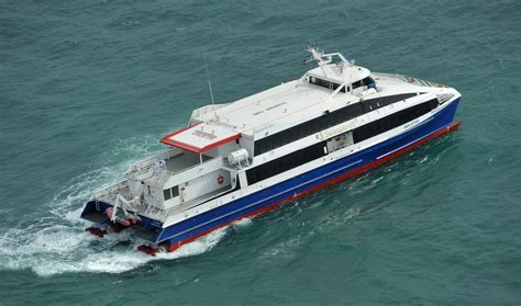 Catamaran Ferry Safety by Seaspovill Signs Contract For Second Damen Fast Ferry
