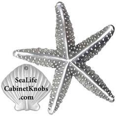 1000 images about starfish cabinet pulls on