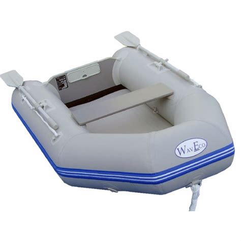 Air Deck Inflatable Boat by Waveco 300 Air Deck Inflatable Boat With A Solid Transom