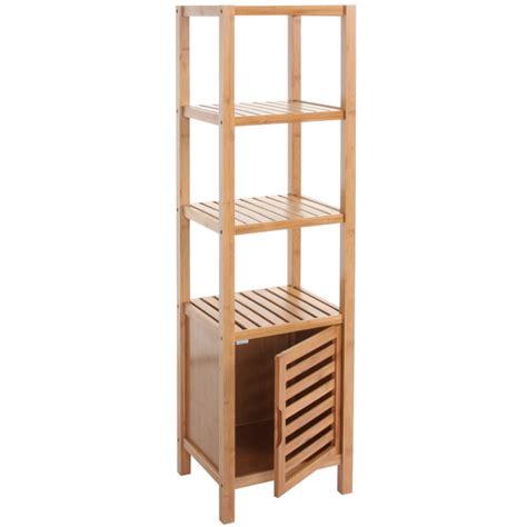 etag 232 re armoire meuble pour salle de bain en bambou