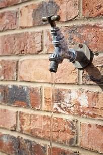 repair a leaking freeze proof faucet